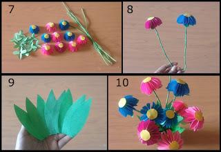 Tutorial Cara Membuat Bunga Indah dari Kertas Origami 2