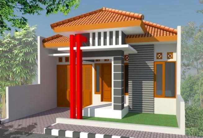 Model Rumah Minimalis Garasi di dalam