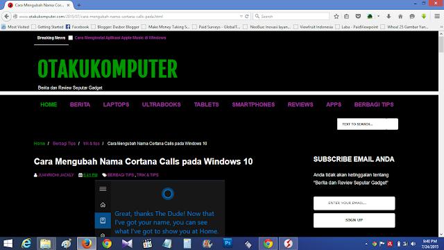 Cara menganti Teks dan Background di Firefox Pada Web Tertentu