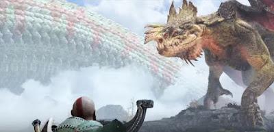 God of War, 2018, Free Dragon Reginn