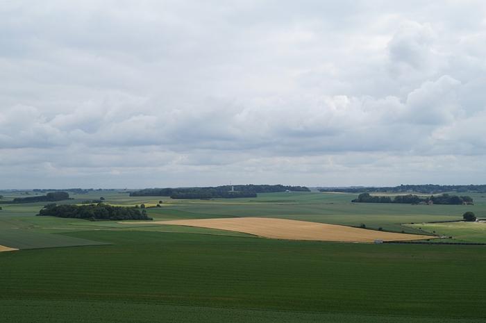 Ausblick vom Löwenhügel in Waterloo, Belgien // Belgium Countryside