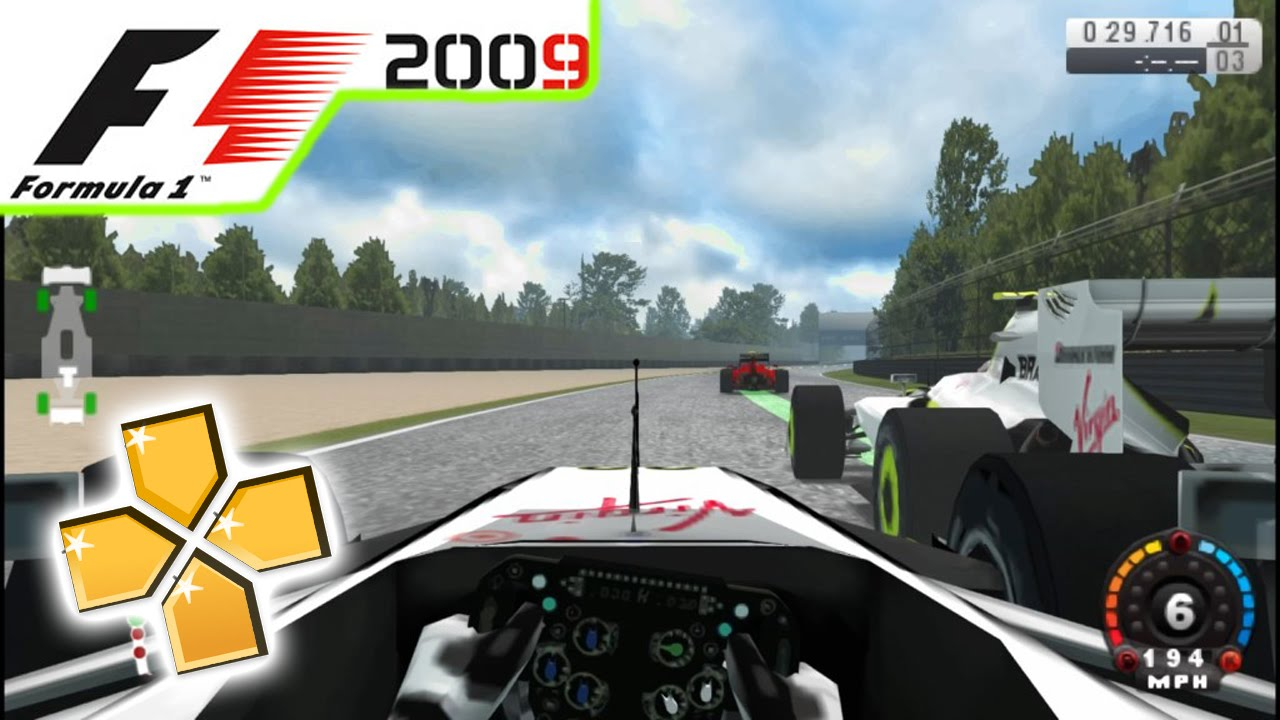 f1 2009 For PPSSPP Emulator Android