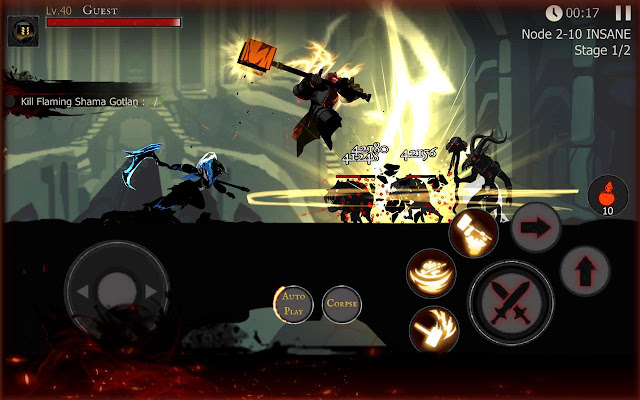 Shadow of Death: Dark Knight-Stickman Fighting