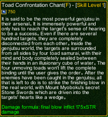naruto castle defense 6.3 Toad Confrontation Chant detail