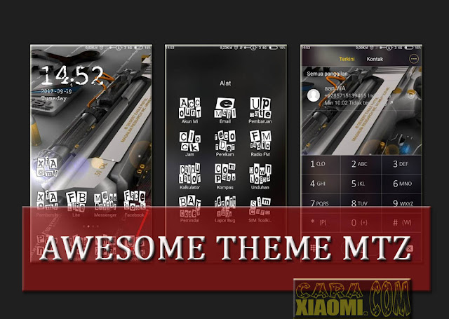 Tema Xiaomi Awesome Mtz For MIUI Update Cool Icon