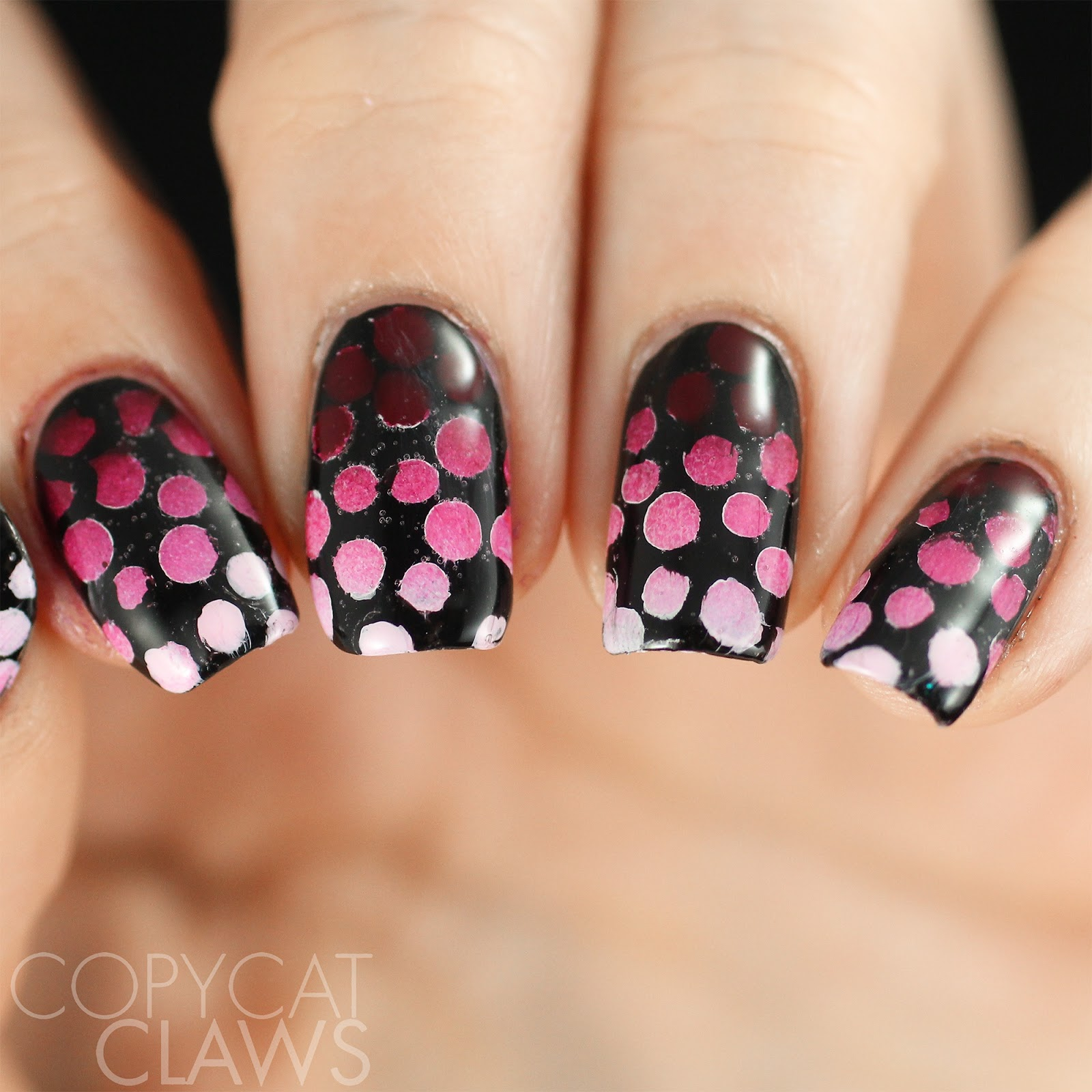 Copycat Claws: 26 Great Nail Art Ideas - Red and Pink
