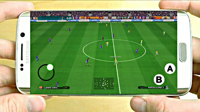 PES V6 Lite Android 140 Mb Update New Transfer Best Graphics
