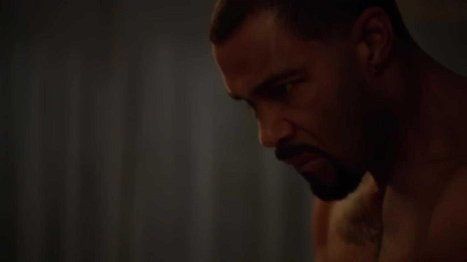 Auscaps Omari Hardwick Nude In Power 1-02 -7948