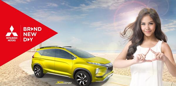 Artis Vanesha Prescilla Jadi Brand Ambasador Untuk Mobil Penumpang Mitsubishi
