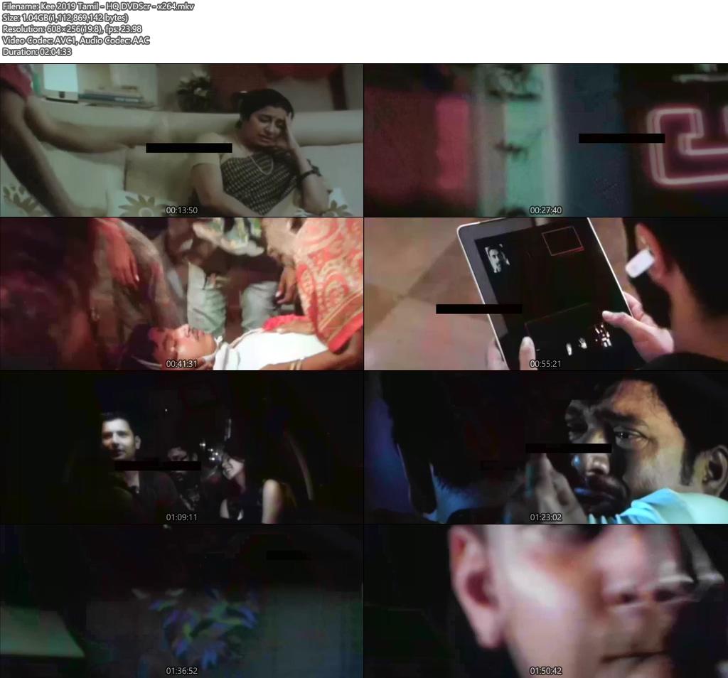 Kee 2019 Tamil HQ DVDScr x264 | 480p 300MB | 100MB HEVC Screenshot