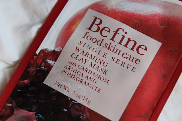 Warming Clay Mask - BeFine (Food Skin Care)