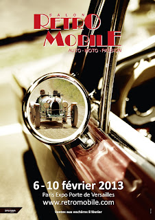 affiche retromobile 2013