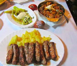 Traditional Serbian Meal Belgrade,Serbia