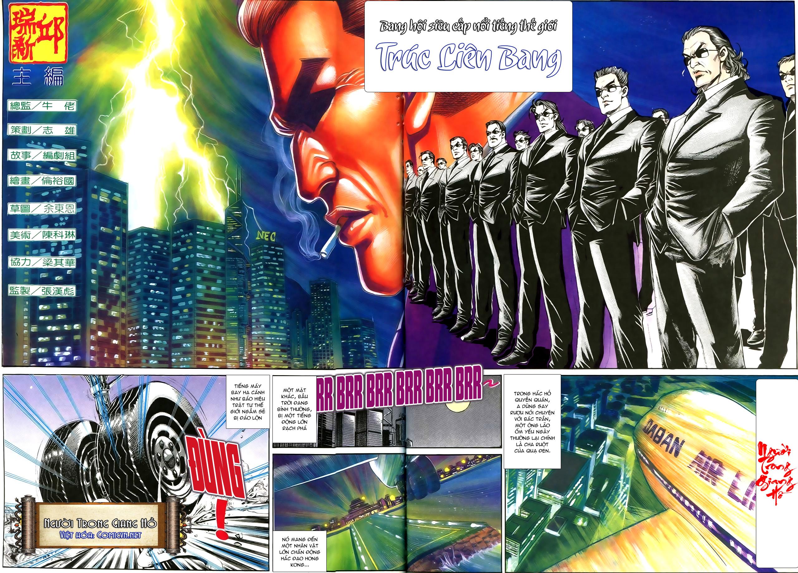 Người Trong Giang Hồ chapter 192: bá khí trúc liên bang trang 2