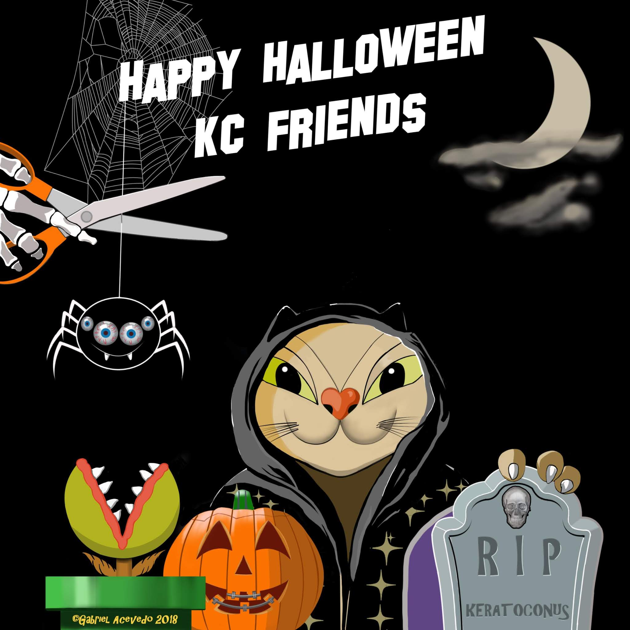 Keratocat wishes you a happy and safe Halloween