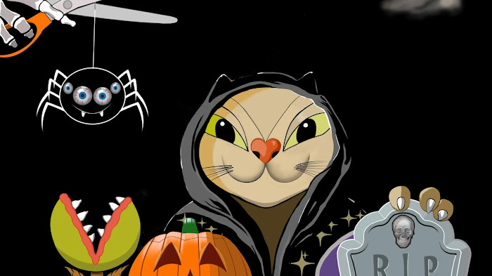 🎃 Keratocat wishes you a happy and safe Halloween 👻