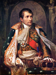 Portrait of Napoleon Bonaparte by the Italian artist Andrea Appiani in 1805
