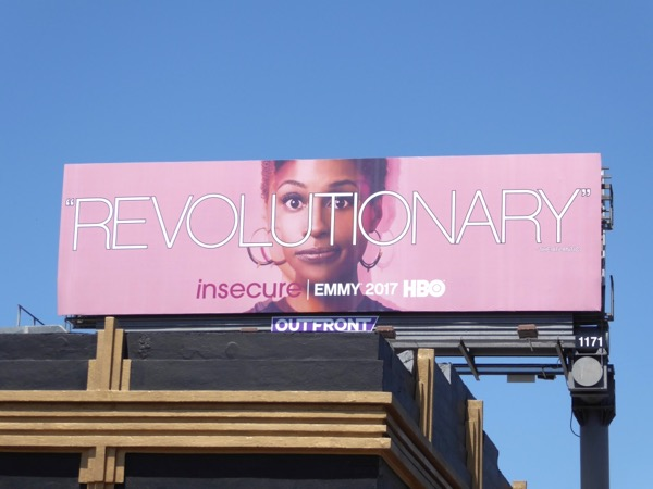 Insecure Revolutionary 2017 Emmy billboard