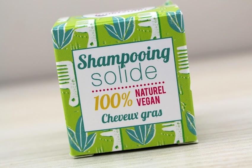 Revue Le shampoing solide pour cheveux gras Lamazuna a la litsée citronnée avis