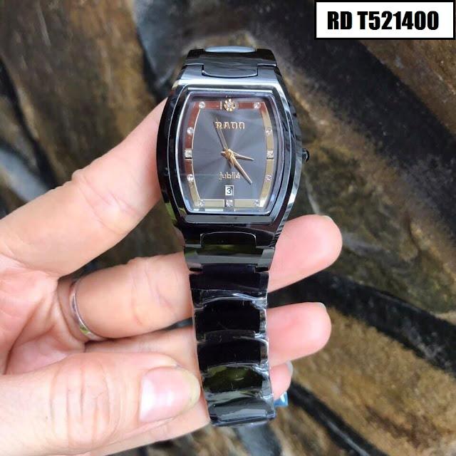 Đồng hồ nam mặt chữ nhật Rado RD T521400