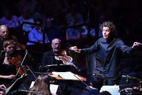 Robin Ticciati and the OAE - Mozart: La Clemenza di Tito - Glyndebourne Opera at the BBC Proms (Photo BBC / Chris Christodoulou)
