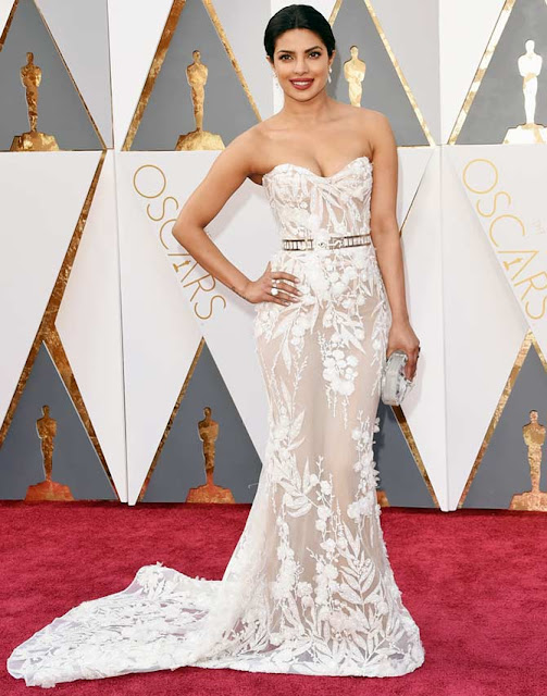 Priyanka Chopra Looking Sexy Hot images oscar awards 2016