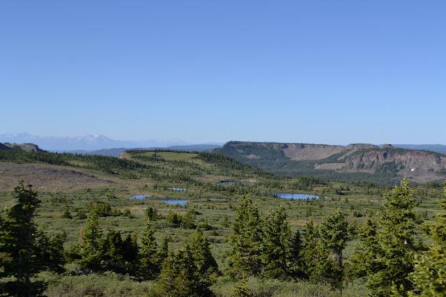 lakes on the high mesa