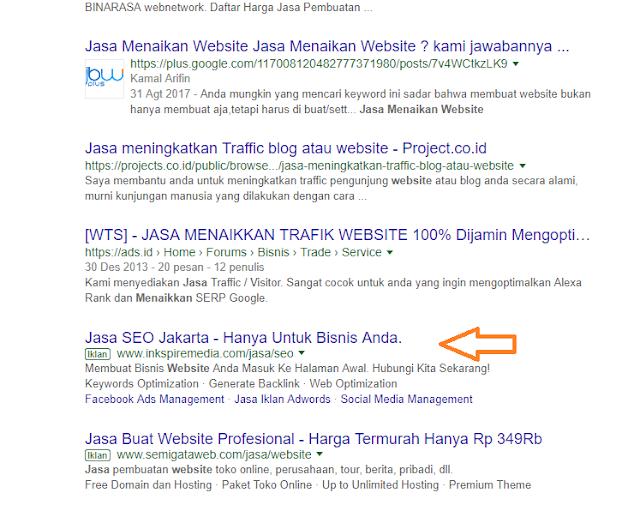 Jasa Buat Website dan Iklan, Jasa Menaikan Website, Jasa Buat Website