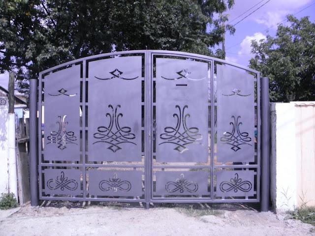 thi công cửa sắt cnc