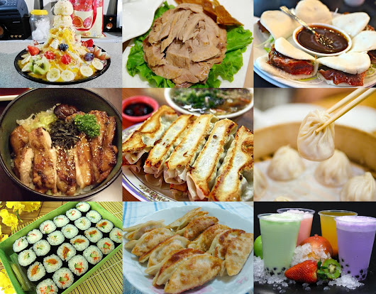 Mouthwatering Asian Foods