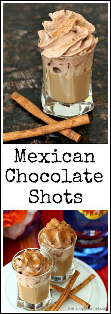 MEXICAN CHOCOLATE SHOTS