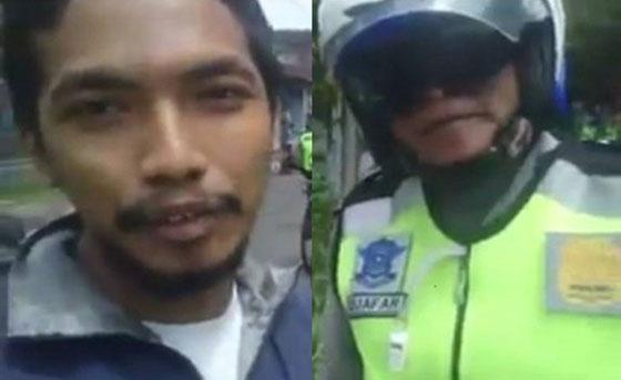 Husain Fata, Pria Madiun Yang Rekam Video Razia Kendaraan Dipanggil Polisi