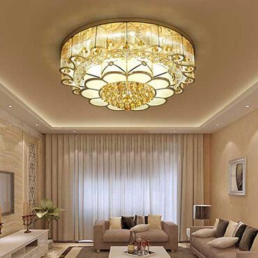 Khám phá những mẫu đèn trang trí phòng khách hiện đại nhất vừa ra mắt gần đây