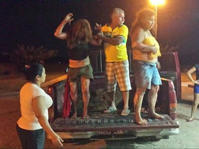 Terror! Bandidos ateiam fogo em residência com a família toda amarrada em Pirapemas MA