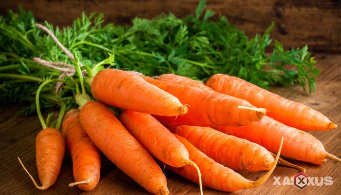 Cara menghilangkan bekas luka di wajah dengan wortel