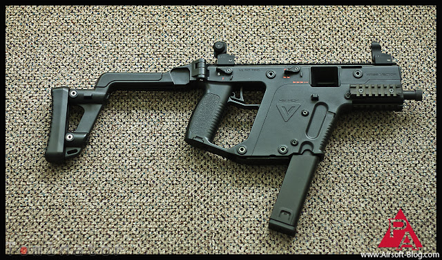 Pyramyd Airsoft Blog: KWA KRISS Vector Airsoft SMG Photos
