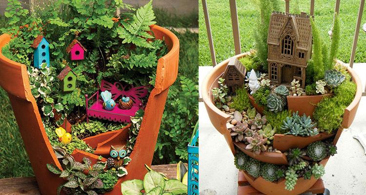 vazo mini jardim
