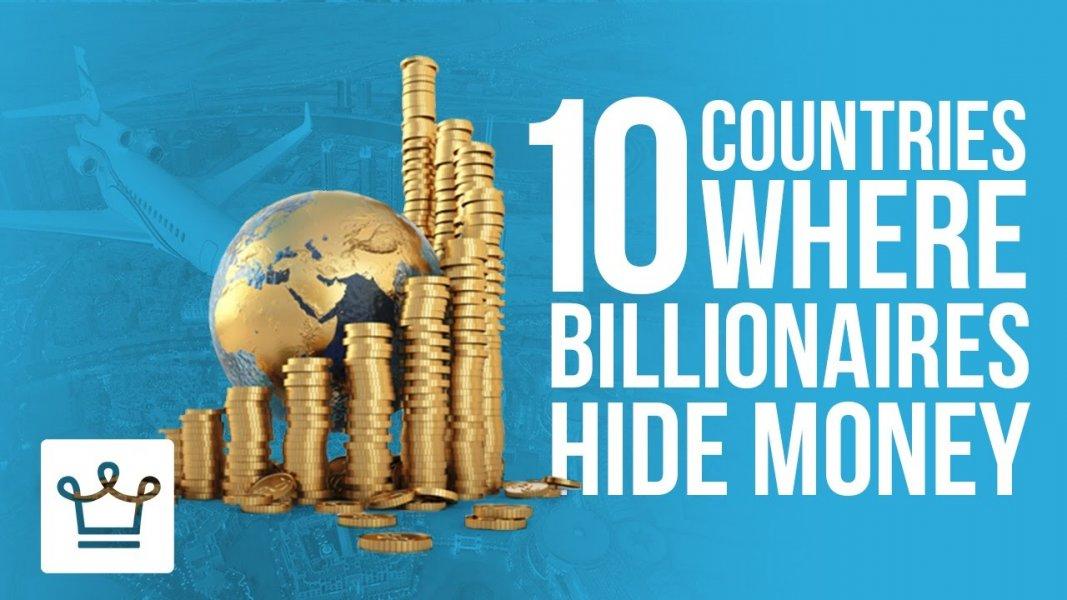 Δέκα χώρες όπου οι δισεκατομμυριούχοι «κρύβουν» τα λεφτά τους! (Βίντεο)