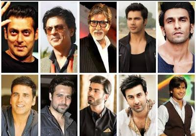 Top Bollywood Actors