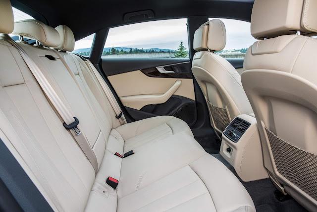 Novo Audi A5 Sportback 2018 - espaço traseiro