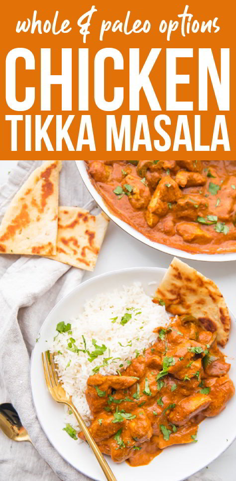 Best Chicken Tikka Masala Recipe #chickenfoodrecipes #easychickenrecipes #chickenrecipes #dinnerideas #easydinnerrecipes #paleorecipes #whole30recipes