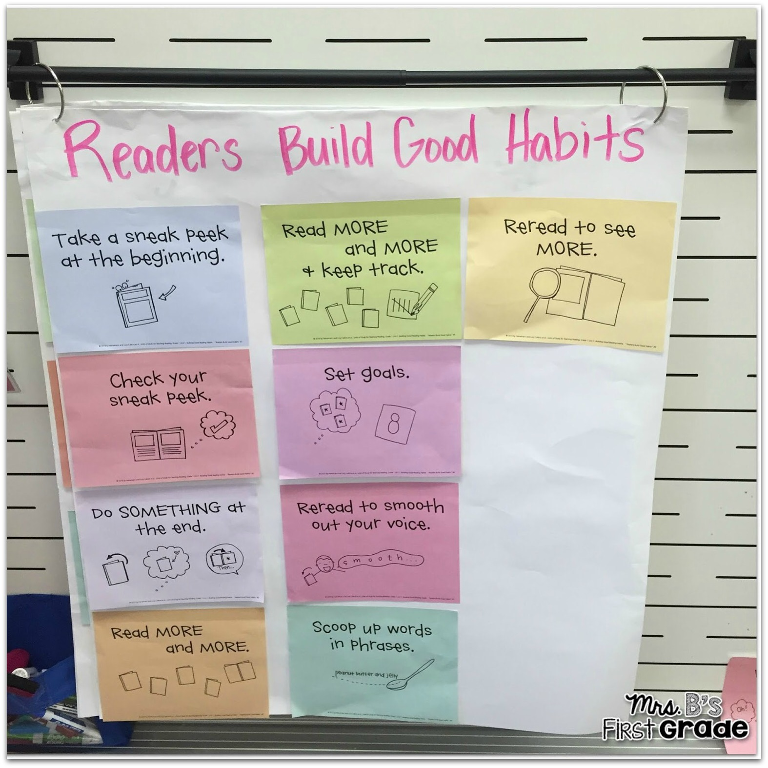 Readers And Writers Workshop Anchor Chart Freebies Mrs Bs