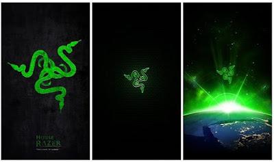 Razer Phone Stock Wallpapers
