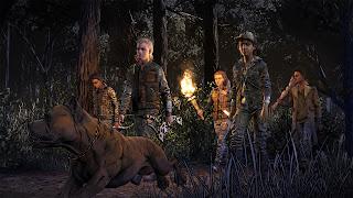 The Walking Dead: The Final Season Broken Toys PS4 Wallpaper