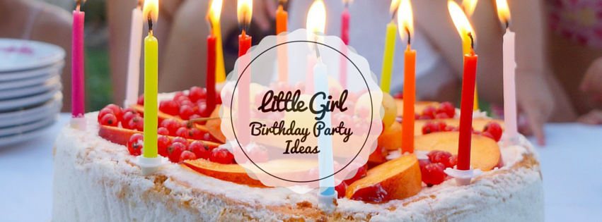 Little Girl Birthday Party Ideas Banner