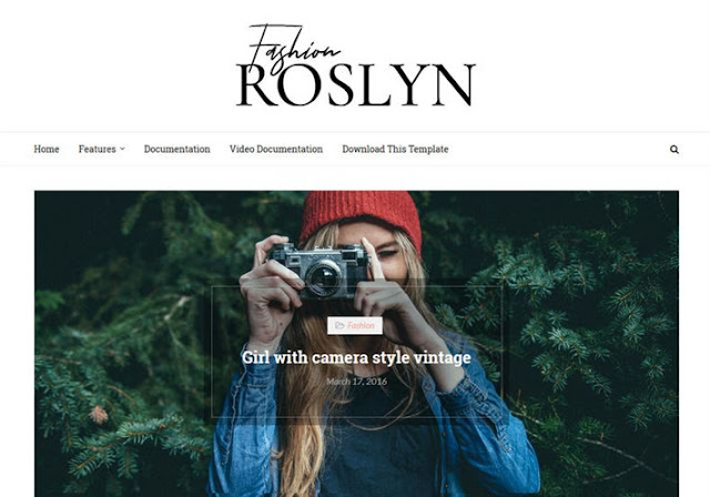 Roslyn Blogger Theme