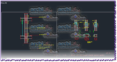 download-autocad-cad-dwg-file-columns-Sections-Details