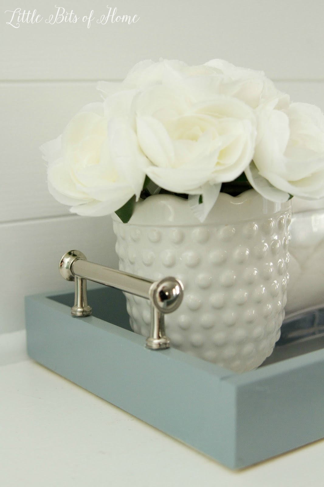 Little Bits Of Home: Bathroom Countertop Tray