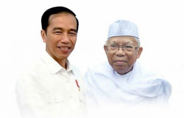Pasangan Capres-Cawapres Jokowi-Ma'ruf Amin