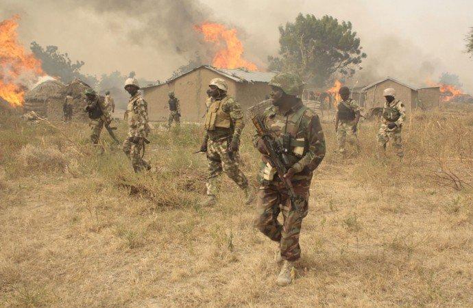 Nigerian Soldiers foil attack on Maiduguri, kill Boko Haram fighters